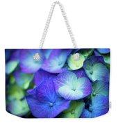 Hydrangea - Purple And Green Weekender Tote Bag