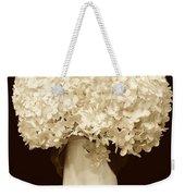 Hydrangeas In Sepia Weekender Tote Bag
