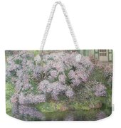 Hydrangeas On The Banks Of The River Lys Weekender Tote Bag
