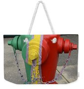 Hydrant With A Facelift Weekender Tote Bag