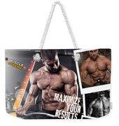 Hydro Muscle Max Weekender Tote Bag