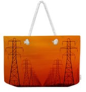 Hydro Power Lines And Towers Weekender Tote Bag