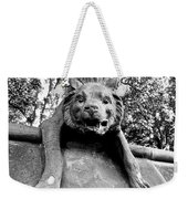 Hyena On The Wall Weekender Tote Bag