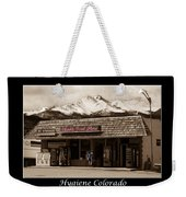 Hygiene Colorado Bw Fine Art Photography Print Weekender Tote Bag
