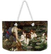 Hylas And The Nymphs John William Waterhouse Weekender Tote Bag