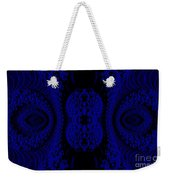 Hyper Tidal Blue Weekender Tote Bag