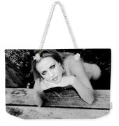 Hypnotic Eyes Weekender Tote Bag