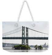 I-74 Bridge Weekender Tote Bag