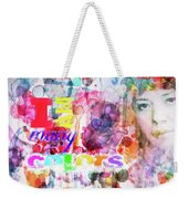 I Am Many Colors Weekender Tote Bag