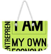 I Am My Own Economy Weekender Tote Bag