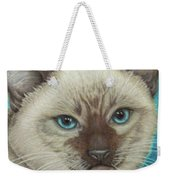I Am Siamese If You Please Weekender Tote Bag