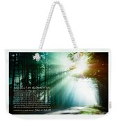 I Am The Bread Of Life Weekender Tote Bag