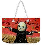 I Am The Master Of My Destiny Weekender Tote Bag