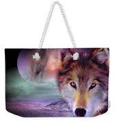 I Am Wolf Weekender Tote Bag