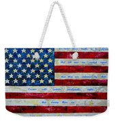 I Believe Weekender Tote Bag by Patti Schermerhorn