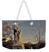 I Bring All Of My Mourning To The Cross Weekender Tote Bag