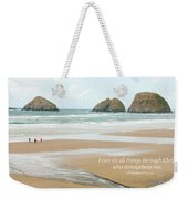 I Can Do All Things Through Christ Weekender Tote Bag