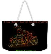 I Can Harley Wait Weekender Tote Bag