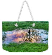 I Can See China - Hole In The Grass Weekender Tote Bag