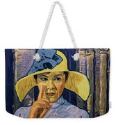 I Could See The Fever In His Eyes Weekender Tote Bag