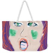 I Don't Care What You Say Weekender Tote Bag