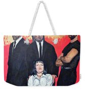 I Don't Smile For Pictures Weekender Tote Bag
