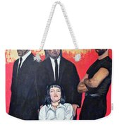 I Don't Smile For Pictures Weekender Tote Bag by Tom Roderick