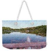 I Dreamed Of A Lake Weekender Tote Bag