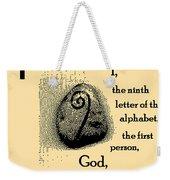 I Weekender Tote Bag