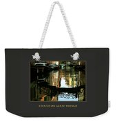 I Focus On Good Things Venice Weekender Tote Bag
