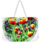 I Heart Tulips Weekender Tote Bag