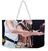 I Just Dropped In Weekender Tote Bag by Tom Roderick