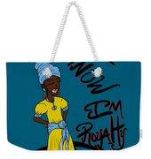 I Know Im Royalty Girl Weekender Tote Bag