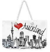 I Love Auckland  Weekender Tote Bag