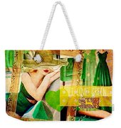 I Love Green Weekender Tote Bag
