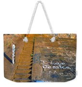 I Love Jessica Weekender Tote Bag