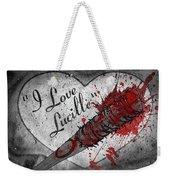 I Love Lucille Weekender Tote Bag