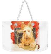 I Love My Scottie Weekender Tote Bag