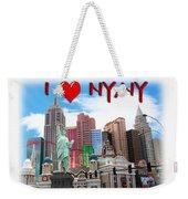 I Love Ny Ny Weekender Tote Bag