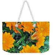 I Love Orange Flowers Weekender Tote Bag