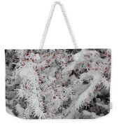 I Love Winter Weekender Tote Bag