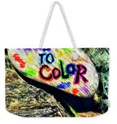 I Need To Color Weekender Tote Bag