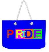 I Put The Pride In Color Weekender Tote Bag