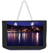 I Reflect On Beauty Of The World Weekender Tote Bag