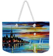 I Saw A Dream - Palette Knife Oil Painting On Canvas By Leonid Afremov Weekender Tote Bag