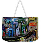 I See My Destination Weekender Tote Bag