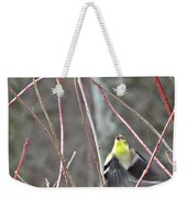 I See You Two Birds In Flight Weekender Tote Bag