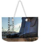 I Sphinx It Is The London Eye Weekender Tote Bag