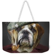 I Totally Agree Weekender Tote Bag by Kathy Tarochione