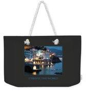 I Travel The World Amalfi Weekender Tote Bag